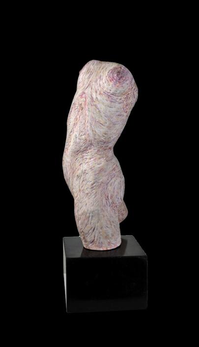 Salome, 2014, Fliederholz/Acrylfarbe, Höhe ca. 35cm
